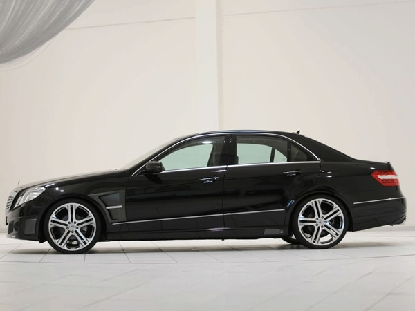 Brabus offers tuning packages for the 2010 mercedes benz e for Mercedes benz e class offers
