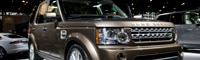 0904 08 Pl 2010 Land Rover LR4 Front Three Quarters View