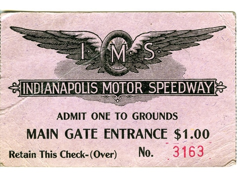 Indianapolis motor speedway history of american for Indianapolis motor speedway ticket office