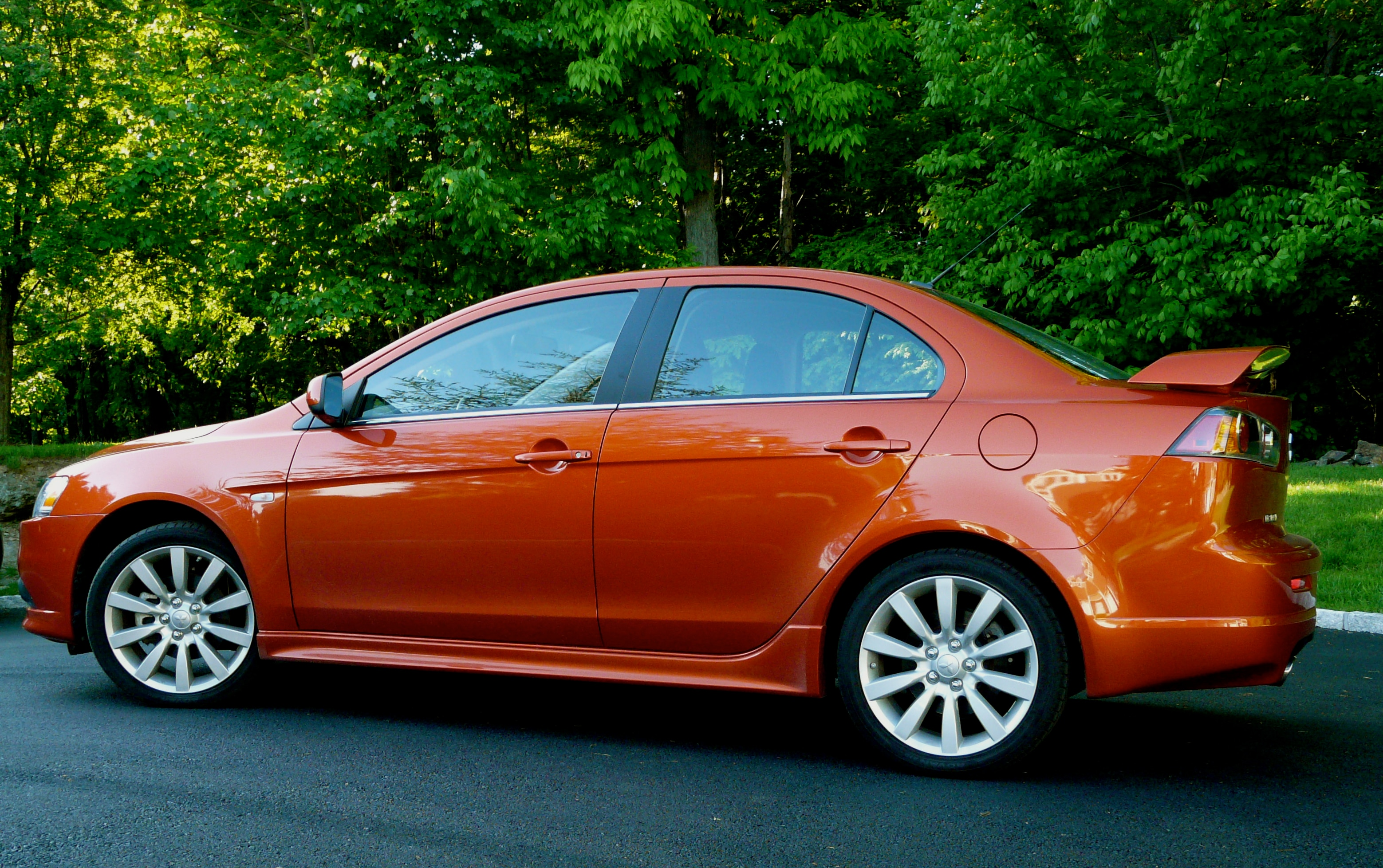 The Mitsubishi Lancer Ralliart is surprisingly compelling ...