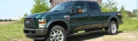 0906_06_pl 2009_ford_f250_cabelas_edition Front_three_quarter_view