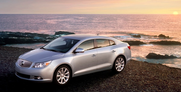 2010 Buick Lacrosse Cx To Get Direct Injection Four Cylinder