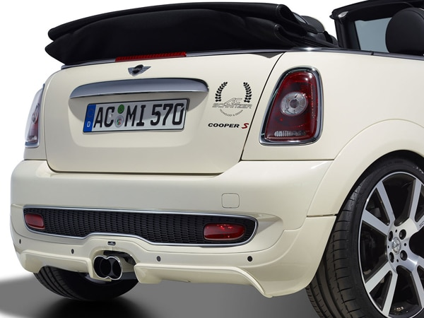 2009 mini cooper convertible accessorized ac schnitzer. Black Bedroom Furniture Sets. Home Design Ideas