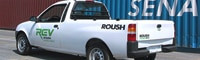 0907 02 Pl Roush Electric Vehicle Pickup Truck Rear Three Quarters View