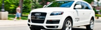 0907 22 Pl 2009 Audi Q7 TDI Front Three Quarters View