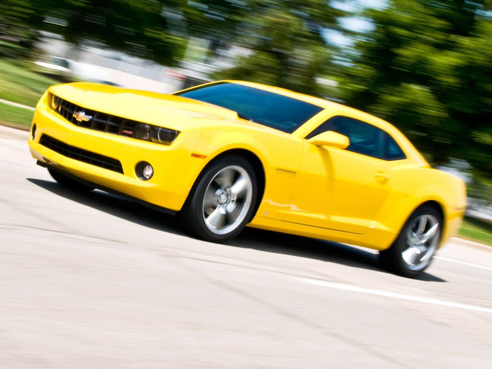 Chevrolet Camaro Yellow HD desktop wallpaper Widescreen High