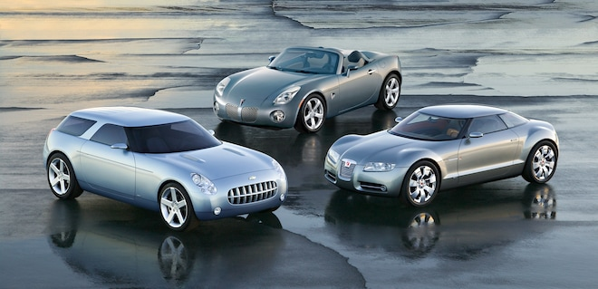 The death of the Pontiac Solstice and Saturn Sky means no more GM