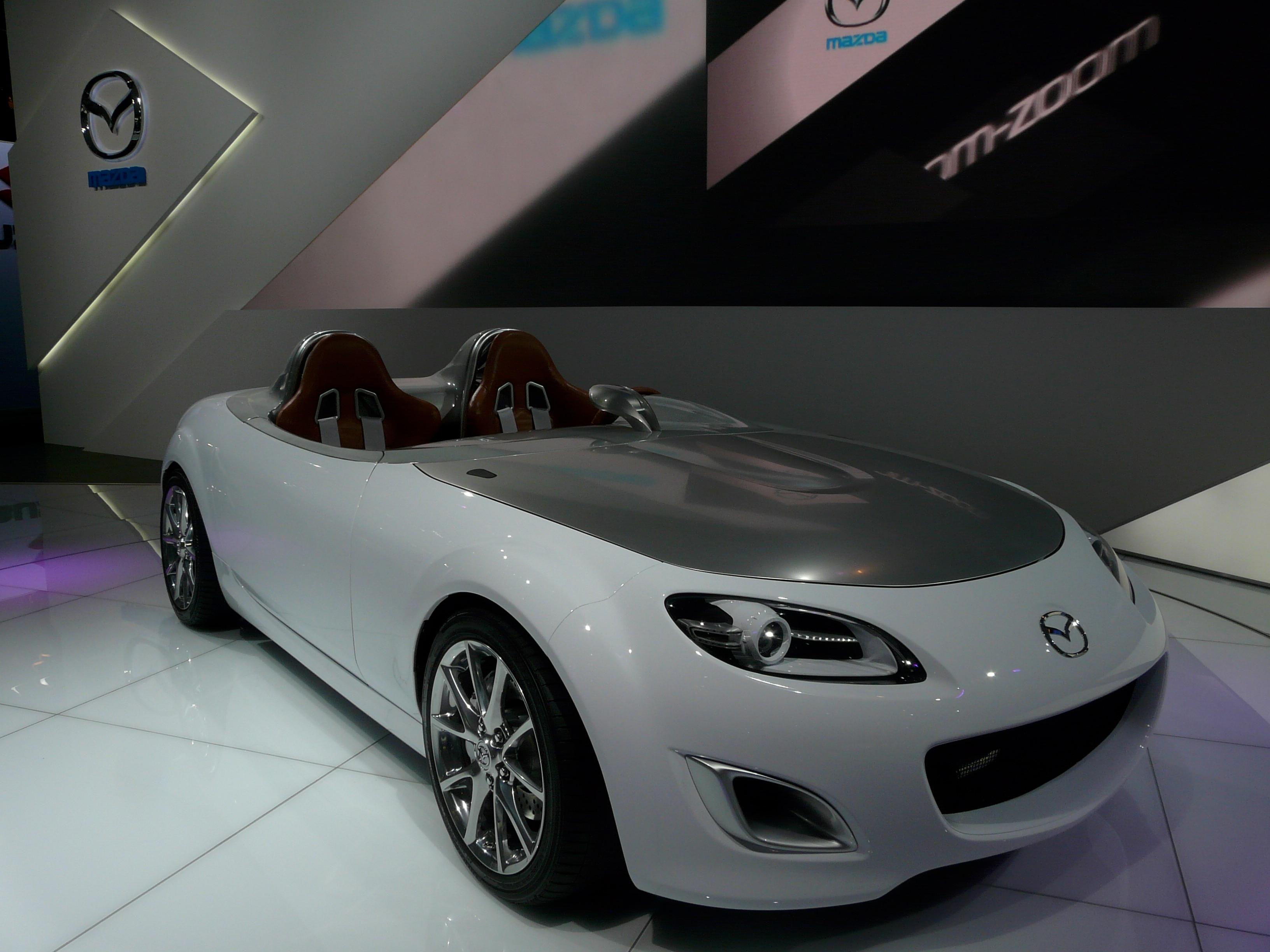 2009 frankfurt auto show mazda mx 5 superlight version. Black Bedroom Furniture Sets. Home Design Ideas