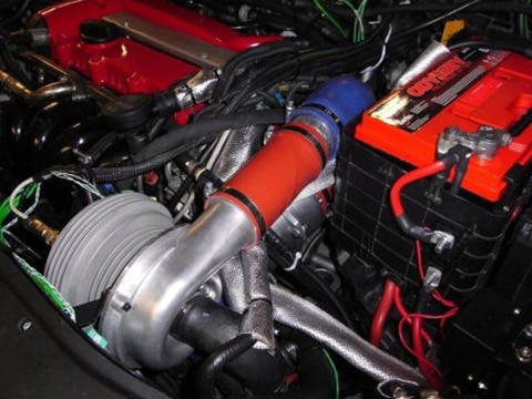 0909 01 Z Electric Power Booster Supercharger