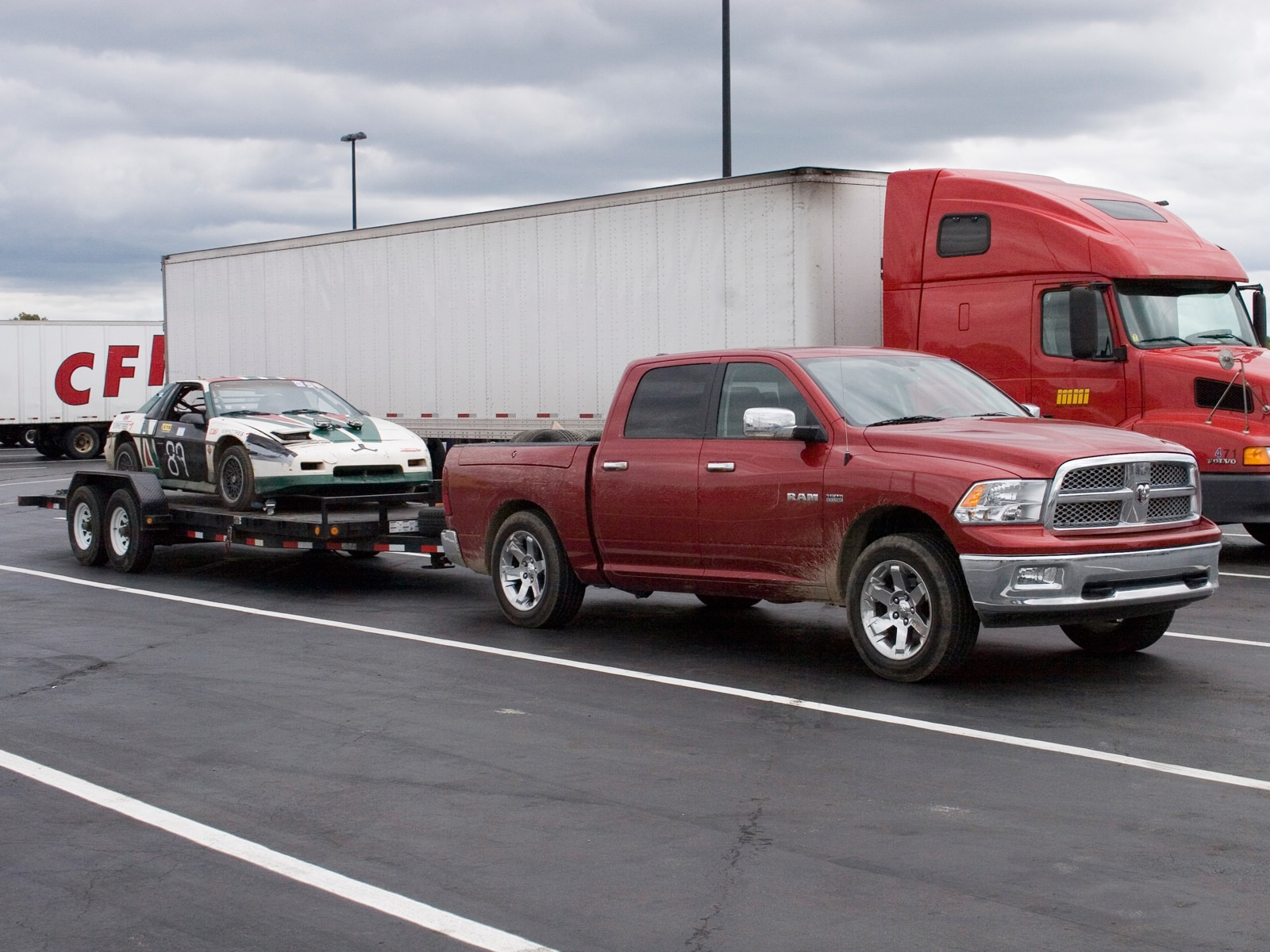 0910 02 Z 2009 Dodge Ram 1500 Towing