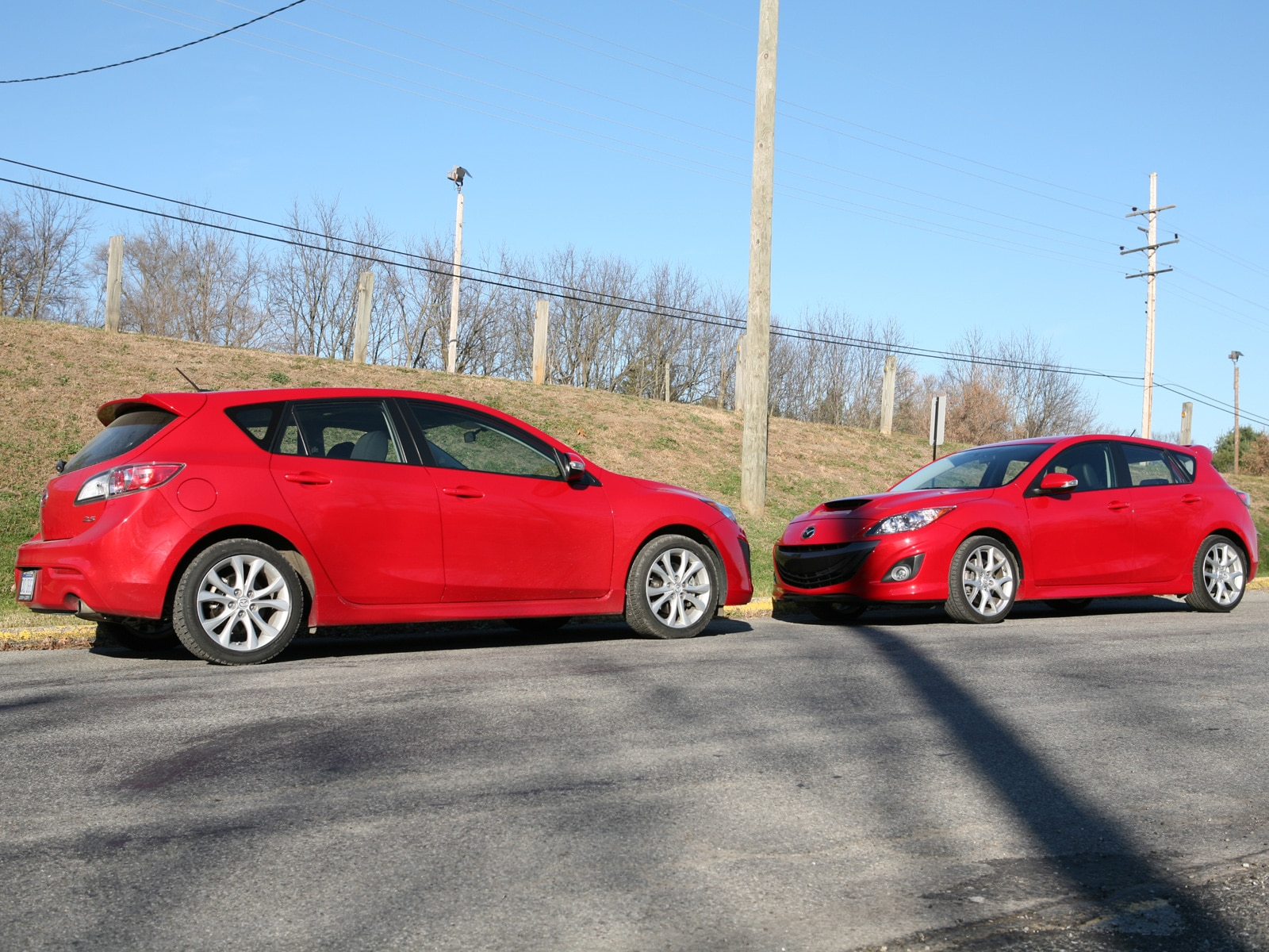 0911 03 Z 2010 Mazda3 VS Mazdaspeed3 Head To Head