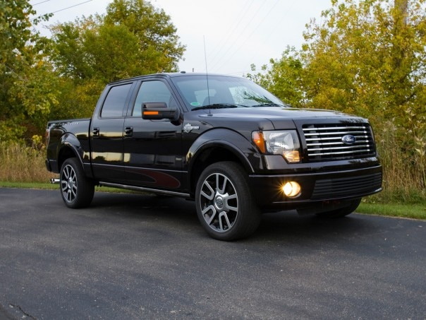 0911 05 Z 2010 Ford F 150 Harley Davidson Edition Front Three Quarter View 604x453