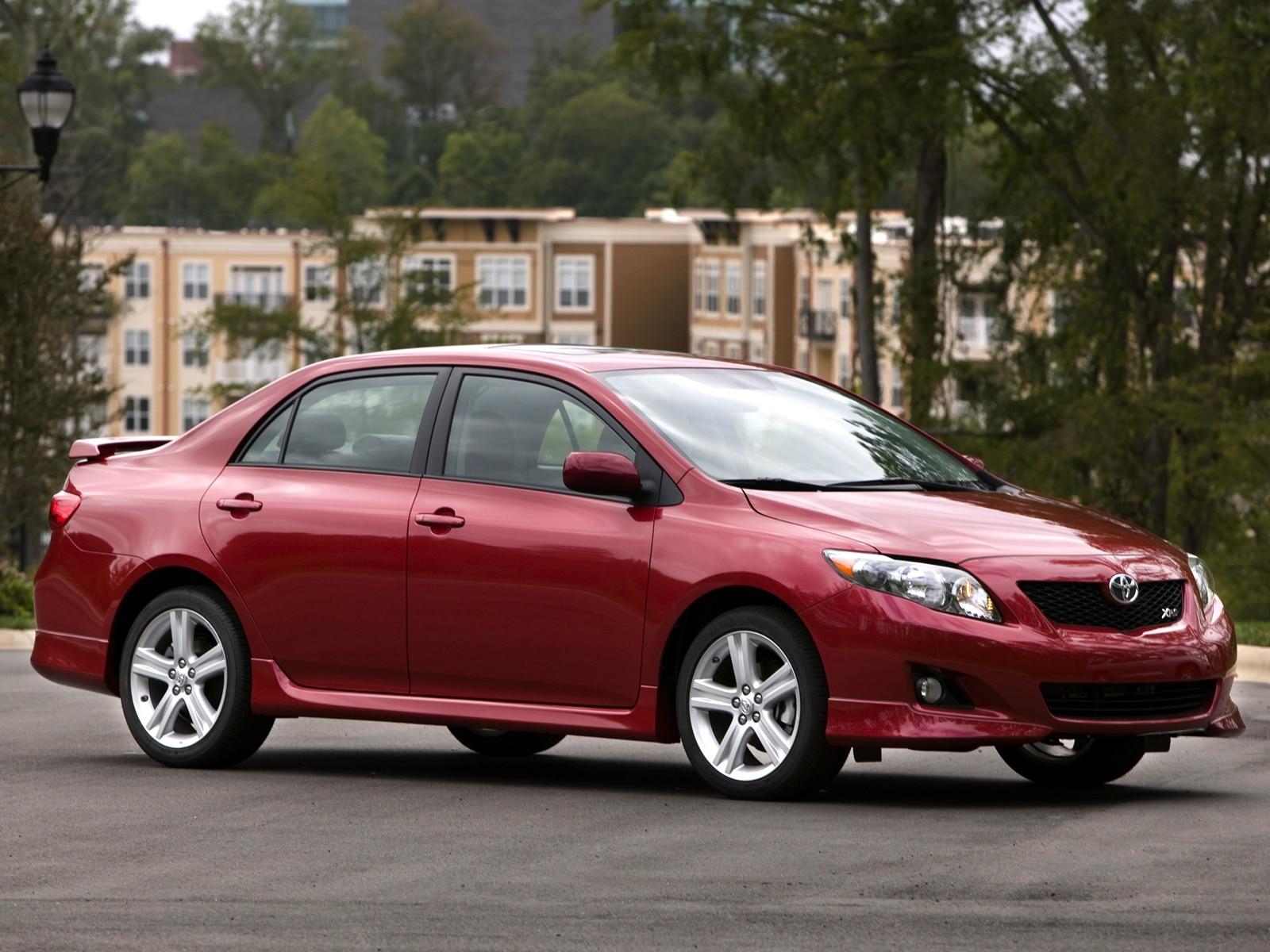 2009 Toyota Corolla XRS - Toyota Sport Sedan Review - Automobile ...