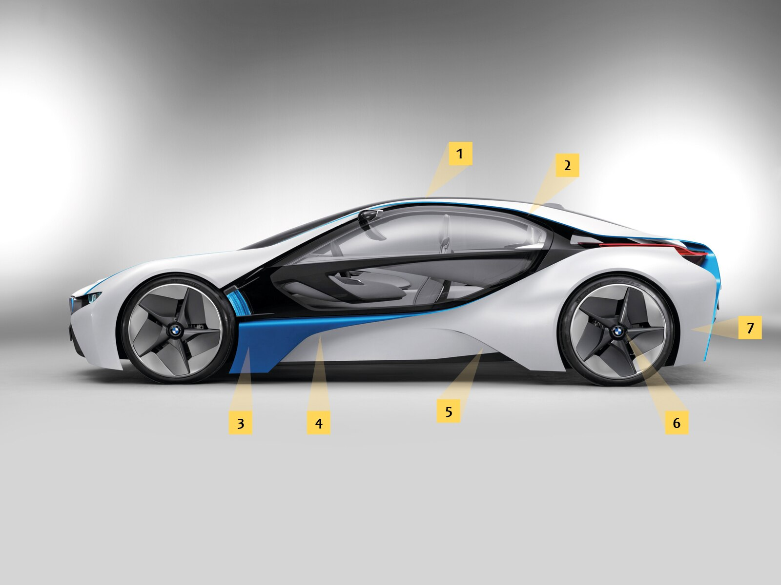 0912 02 Z BMW Vision EfficientDynamics Side View