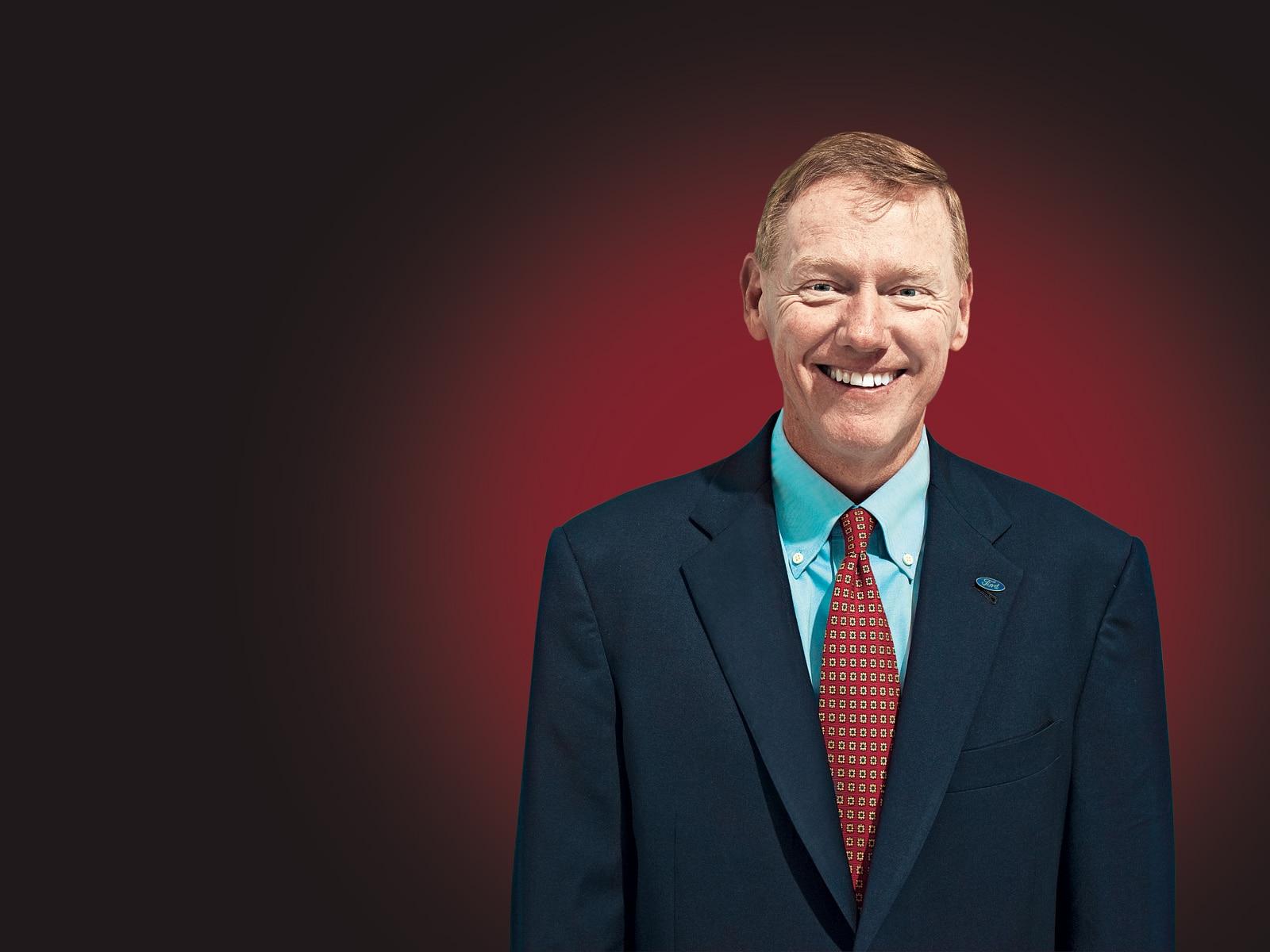 1001 01 Z Alan Mulally CEO Ford Motor Company