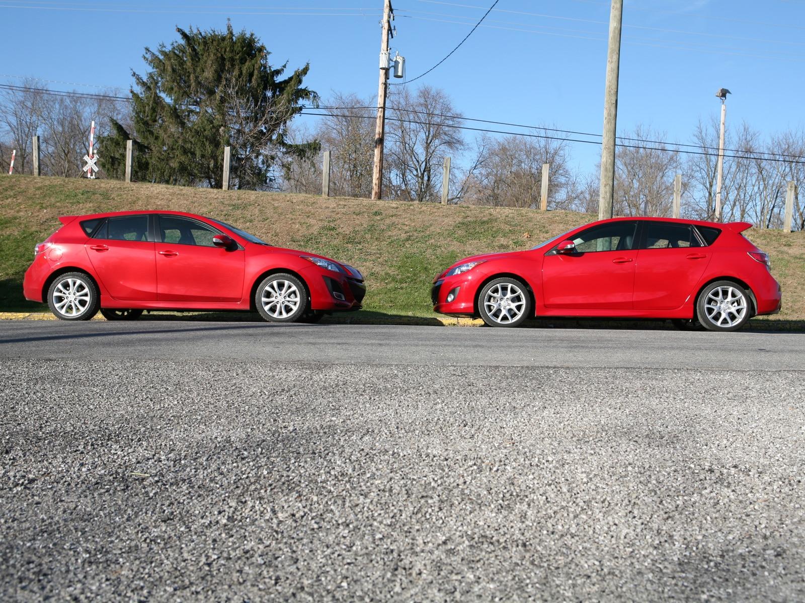 0911 02 Z 2010 Mazda3 VS Mazdaspeed3 Head To Head