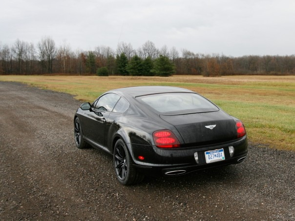 0911 08 Z 2010 Bentley Continental Supersports Rear Three Quarter View 604x453