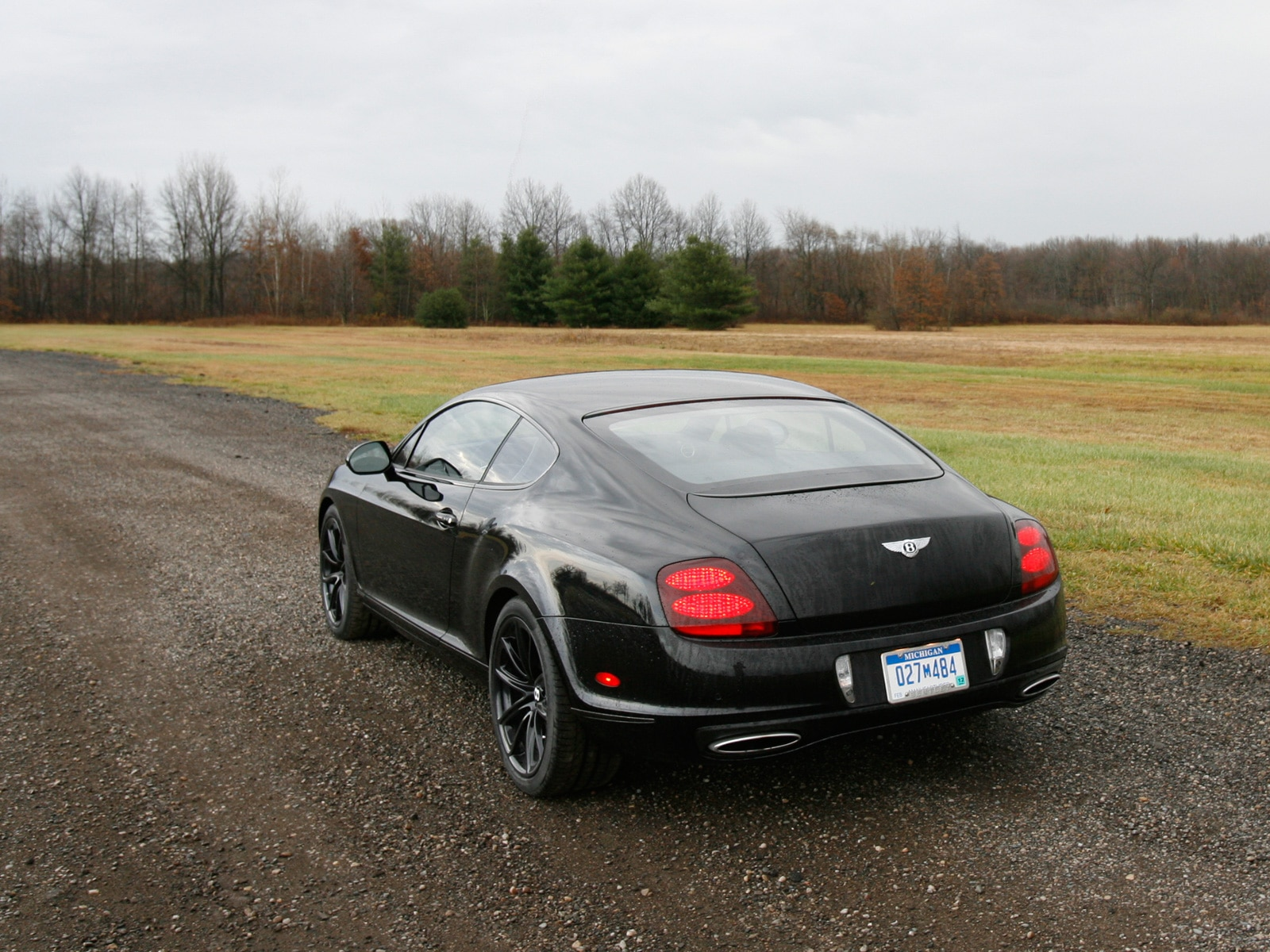 0911 08 Z 2010 Bentley Continental Supersports Rear Three Quarter View
