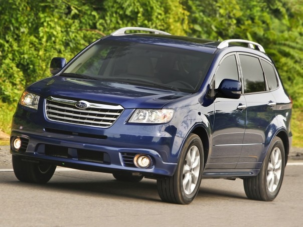 0911 17 Z 2010 Subaru Tribeca Touring Front Three Quarter View 604x453
