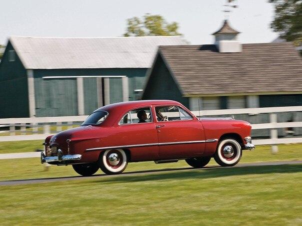 0912 01 Z 1950 Ford Tudor Sedan Side View 604x453