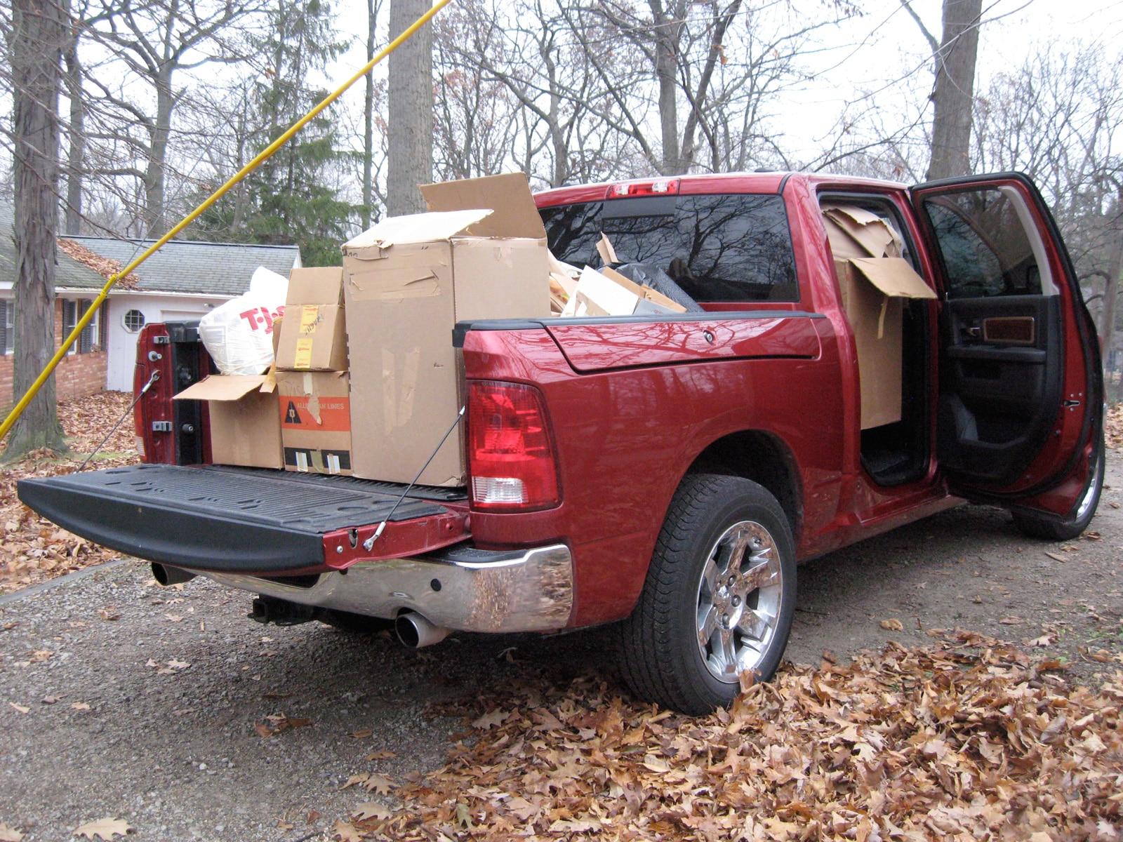 0912 01 Z 2009 Dodge Ram 1500 Rear Three Quarter View