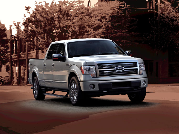 0912 01 Z 2010 Ford F 150 Front Three Quarter View