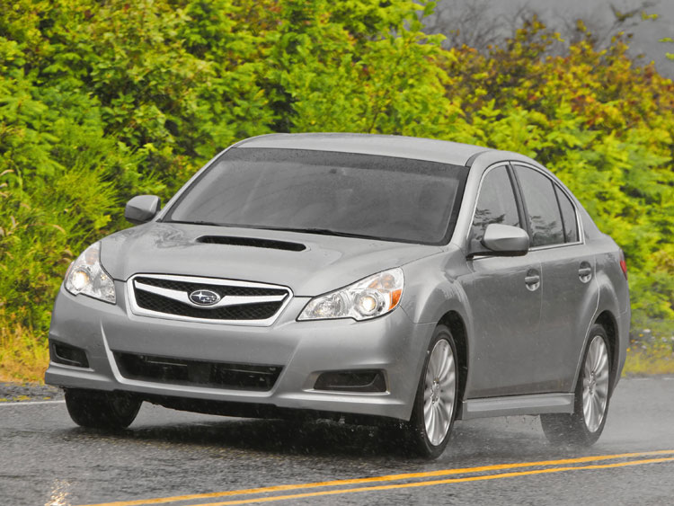 2010 subaru legacy 2 5gt limited subaru midsize sedan automobile magazine. Black Bedroom Furniture Sets. Home Design Ideas