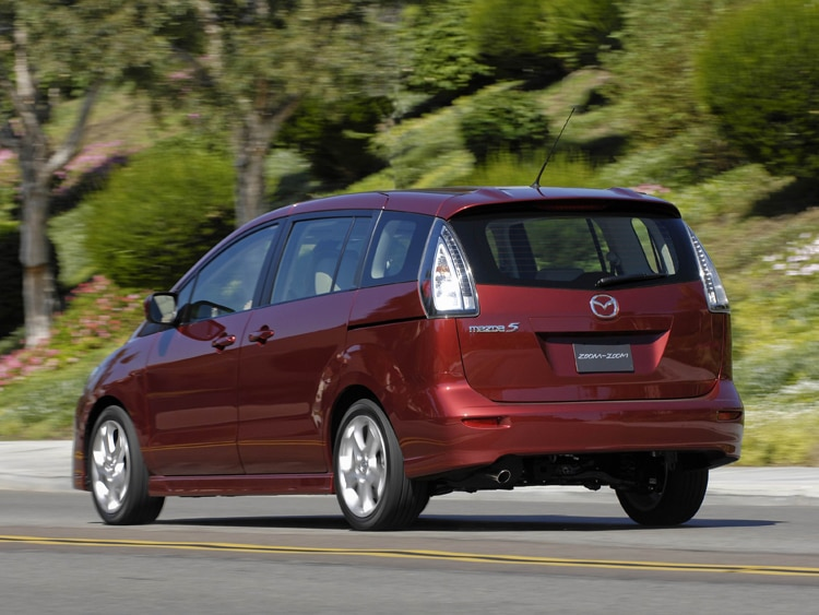 2010 mazda5 touring mazda minivan review automobile. Black Bedroom Furniture Sets. Home Design Ideas