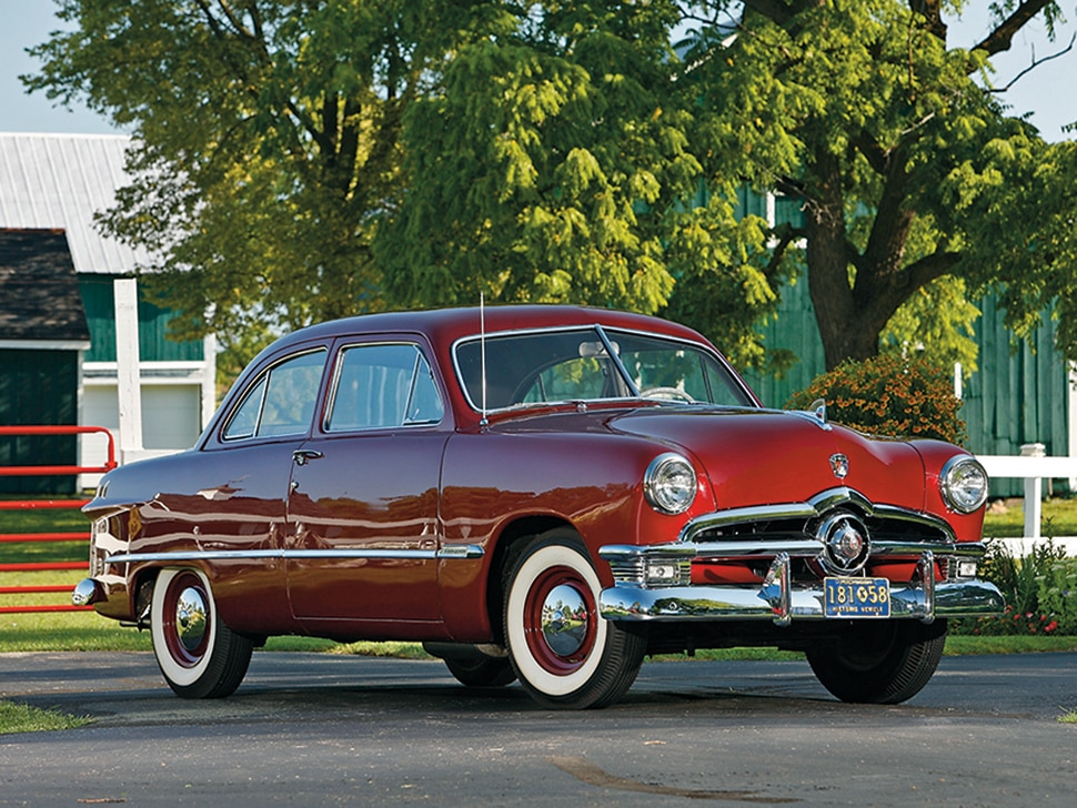 1949-1951 Ford - 1950 Ford Tudor Sedan, Collectible ...1950s Cars Ford