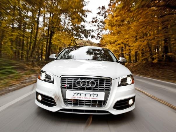 1001 01 Z 2009 MTM Audi S3 Sportback Front View 604x453