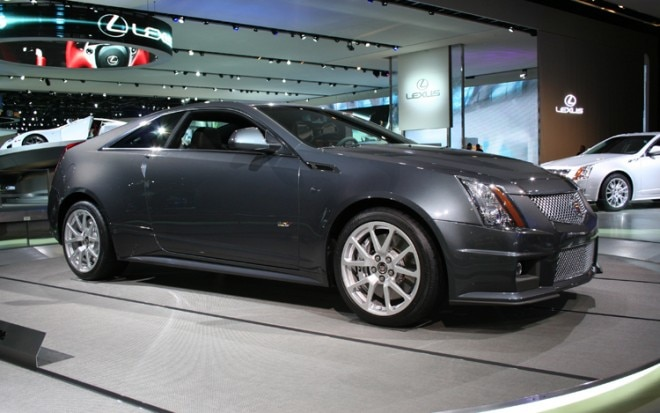 1001 02 Z 2011 Cadillac CTS V Coupe Front Three Quarter View 660x413