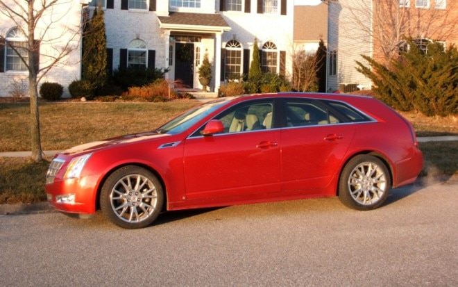 1001 03 S 2010 Cadillac CTS Sport Wagon Premium Side View 660x413