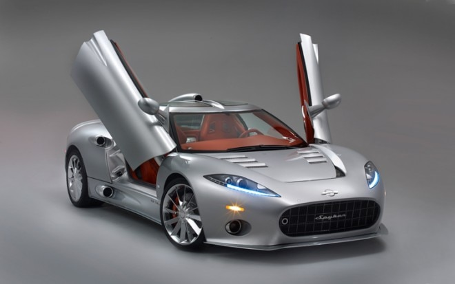 1001 03 Z 2010 Spyker C8 Aileron Front Three Quarter View 660x413