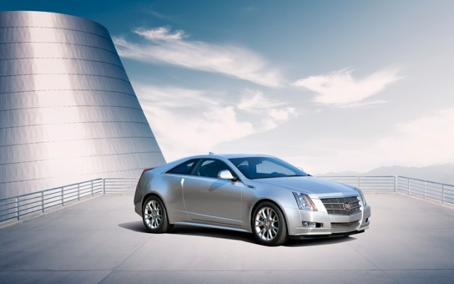1001 07 Z 2011 Cadillac CTS Coupe Front Three Quarter View 660x413