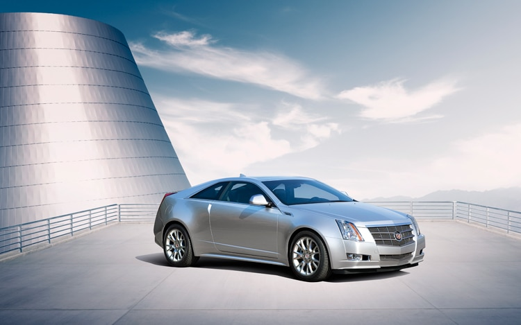 1001 07 Z 2011 Cadillac CTS Coupe Front Three Quarter View