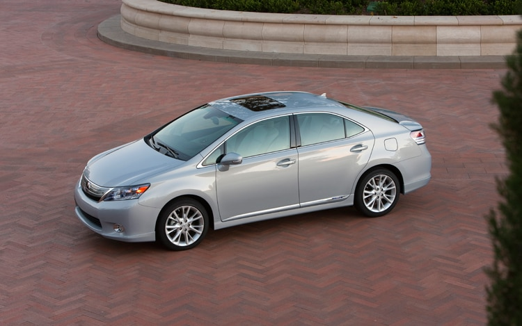 2010 lexus hs 250h premium lexus midsize hybrid sedan review automobile magazine. Black Bedroom Furniture Sets. Home Design Ideas