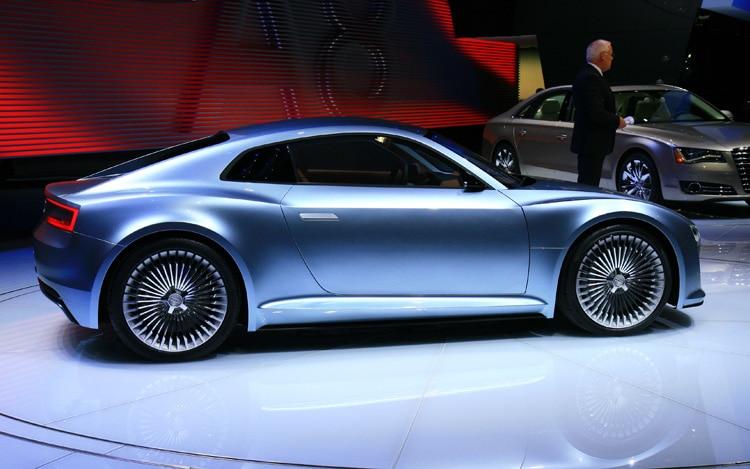 Audi E Tron Detroit Show Car Side