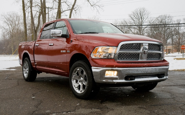 1002 02 Z 2009 Dodge Ram 1500 Front Three Quarter View