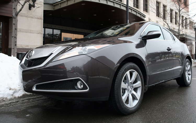 2010 acura zdx acura coupe crossover review automobile magazine. Black Bedroom Furniture Sets. Home Design Ideas