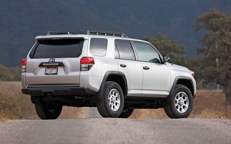 1003 01 Z 2010 Toyota 4Runner Rear Three Quarter View