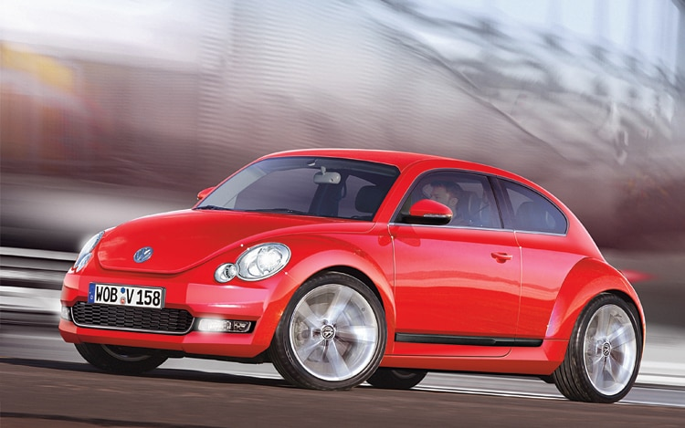1003 01 Z 2011 Volkswagen New Beetle Front Three Quarter View