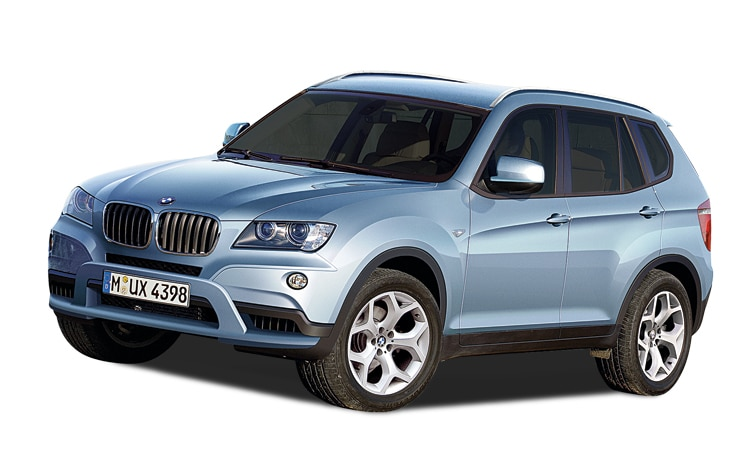 1003 07 Z BMW X3 Front Three Quarter View
