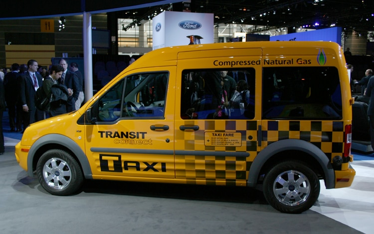2011 Ford Transic Connect Taxi Side