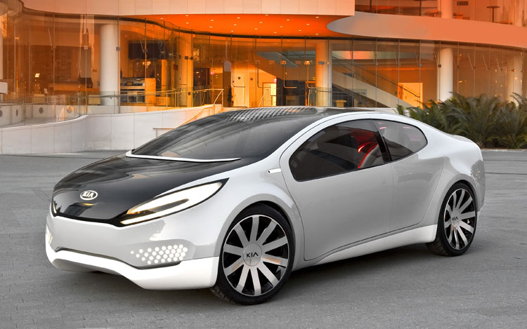 Kia Ray Concept Front Three Quarter1