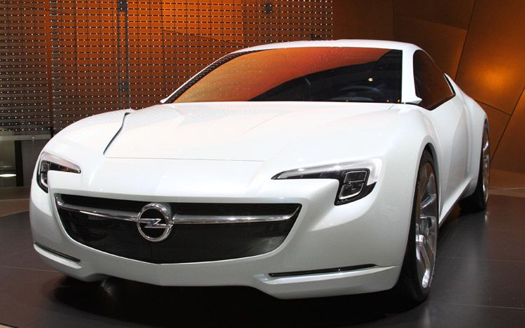 Opel Flextreme Gte Concept Front View