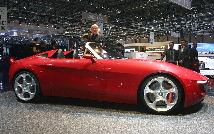 Pininfarina Alfa Romeo Concept Side1