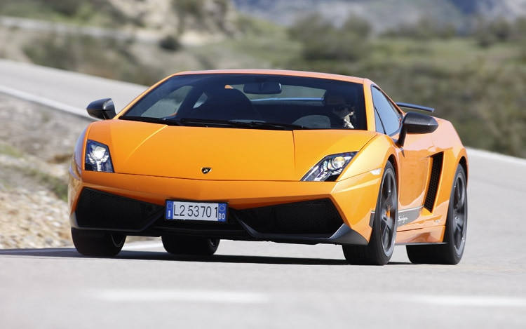 06 2011 Lamborghini Gallardo Superleggera Lp 570 4 Front Three Quarter