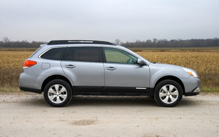 1002 03 Z 2010 Subaru Outback Limited Side View