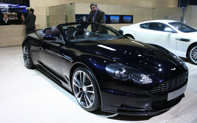 1003 01 Z 2010 Aston Martin DBS UB 2010 Special Edition Front Three Quarter View