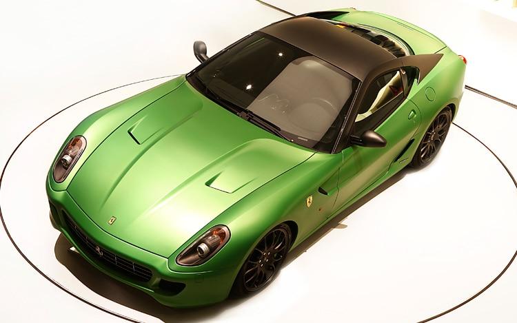 1003 01 Z 2010 Ferrari 599 HY KERS Hybrid Concept Top View